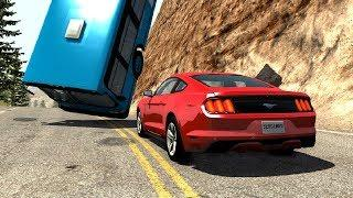Instant Karma & Car Near Miss Compilation 3 - BeamNG Drive