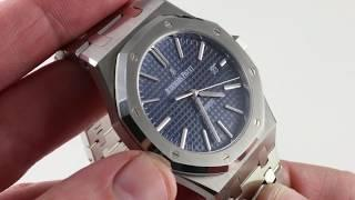 Audemars Piguet Royal Oak 15400ST.OO.1220ST.03 Luxury Watch Review
