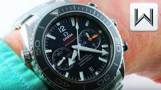 Omega Seamaster Planet Ocean 600m Chronograph (232.30.46.51.01.001) Luxury Watch Review