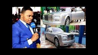 Bishop Obinim Surprises His Church Workers As He Dash 14 Luxury Cars (WATCH VIDEO)
