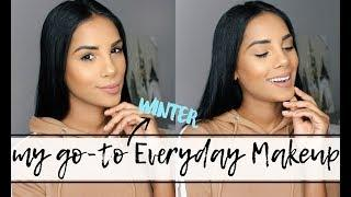 My Go-To Winter Everyday Makeup + Brushes I Use