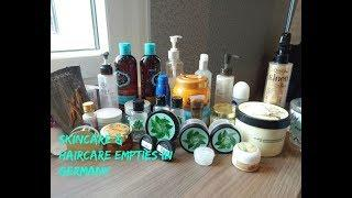Skincare & Haircare Empties in Germany | Germany Drugstore & Luxury Skincare Empties