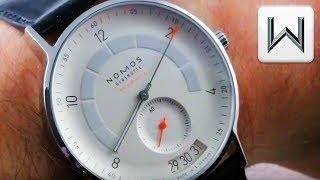 Nomos Glashutte Autobahn Neomatik 41 Date (1301) Luxury Watch Review