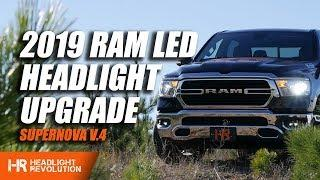 2019 RAM LED Headlight Install - Supernova V.4 | Headlight Revolution