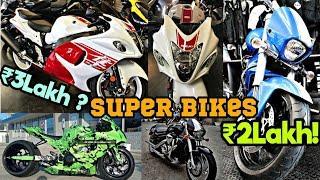 Superbikes In Best Price | Luxury Sports Bike Showroom | Ns One | Hayabusa,Ducati,Aprilia,Ninja