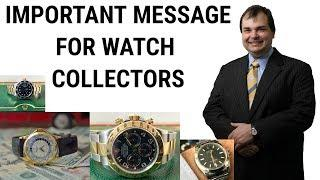GLOBALISM IS FOR THE BIG GUYS ONLY - Free Trade in Luxury Wrist Watches killed in Asia