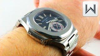 Patek Philippe Nautilus Chronograph 5980/1A-001 Luxury Watch Review