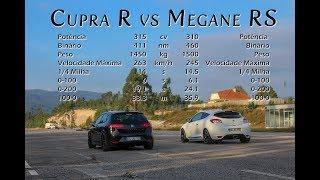 Teaser Cupra R vs Megane RS