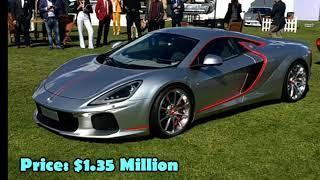 The luxury cars