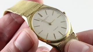 Vintage Vacheron Constantin Jubilee 6099 Luxury Watch Review