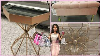 SHOP WITH ME: ROSS | SUPER GIRLY GLAM | SPRING LUXURY HOME DECOR FINDS & IDEAS | APRIL 2018