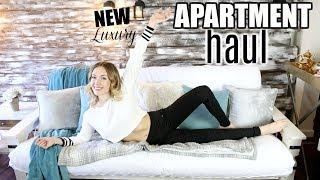 NEW APARTMENT HAUL! | Inexpensive Finds For My LUXURY Apartment!