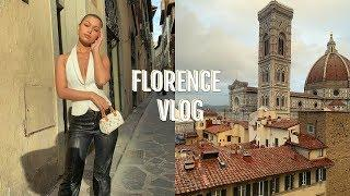 ITALY VLOG: FLORENCE | wine tasting, pasta making, + luxury outlet mall