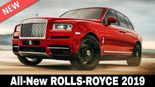 5 New Rolls-Royce Cars and the First SUV that Establish Superiority in 2019