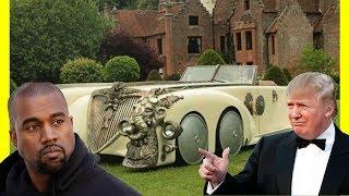 Kanye West's Cars vs President Donald Trump's Cars Luxury Expensive Lifestyle