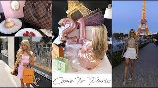 come to Paris with me! luxury shopping in Louis Vuitton & Champs Eylees