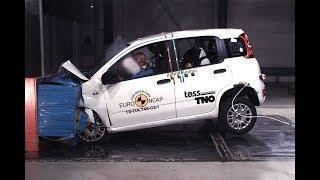 Fiat Panda Crash Test Euro NCAP | December 2018 Ratings
