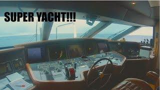 Night Tour On A Luxury Super Yacht (Captain's Vlog 69)