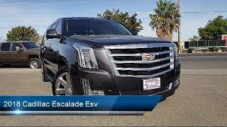 2018 Cadillac Escalade Esv Luxury Sport Utility Modesto  Tracy  Turlock  Los Banos  Merced