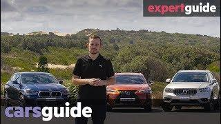 Volvo XC40 vs Lexus UX vs BMW X2 2019 comparison review
