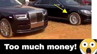 RICH IGBO BOYS STORM THEIR TOWN WITH LOTS OF ROLLS ROYCE!