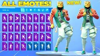 *NEW* MASTER KEY SKIN SHOWCASE WITH ALL FORTNITE DANCES & NEW EMOTES! (Fortnite Season 8 Skin)
