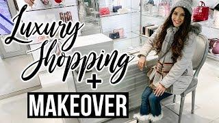 LUXURY SHOPPING IN NYC + HAIR MAKEOVER