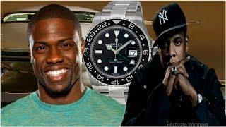 10 Celebrities with Expensive Luxury Watch Collections