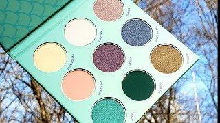 Winky Lux - Mermaid Kitten Eyeshadow Palette Swatches