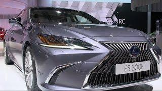 All-new Lexus ES at the 2018 Paris Motor Show