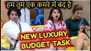 NEW LUXURY BUDGET TASK - ALL HOUSEMATES HAVE TO STAY IN BIGG BOSS MINI HOUSE | BIGG BOSS 12