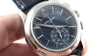 Patek Philippe Annual Calendar 5905P-001 Luxury Watch Review