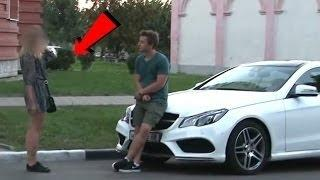How Girls React When They See Luxury Cars!