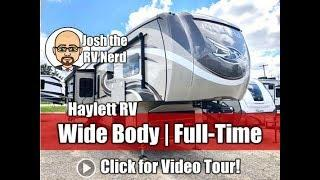UPDATED 2019 Jayco 36KPTS Pinnacle Luxury Triple Slide Wide Body Walk In Shower Fifth Wheel RV