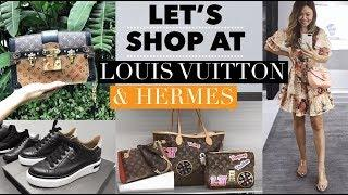 SHOP WITH ME AT LOUIS VUITTON & HERMES! LUX SHOPPING VLOG MALAYSIA ????