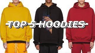 Top 5 Streetwear Hoodies | Affordable to Luxury Haul