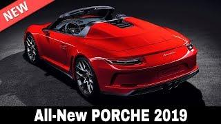 9 New Porsche Cars and SUVs that Merge German Performance and Luxury in 2019