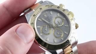 Rolex Daytona 116523 Luxury Watch Review