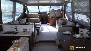 2019 Princess 70 Luxury Yacht - Deck and Interior Walkaround - 2018 Cannes Yachting Festival