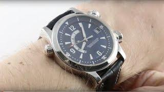 Jaeger-LeCoultre Master Compressor Memovox (PLATINUM) Q1706480 Luxury Watch Review