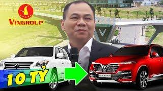 Tỷ Phú Phạm Nhật Vượng Sẽ Đổi Từ Lexus LX570 Sang Vinfast LUX SA2.0?