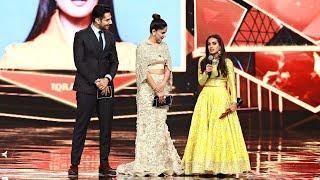 Iqra Aziz Wins The Most Stylish Actor Television Female Award at HUM Style Awards 2018