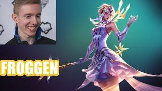 Froggen | LUX vs YASUO | LUX Mid | Challenger Gameplay | Patch 8.13