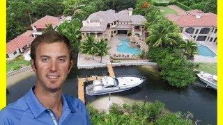 Dustin Johnson House Tour $5600000 Mansion Expensive Luxury Lifestyle 2018