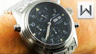 IWC Pilot's Watch Doppelchronograph IW3713-19 Luxury Watch Review