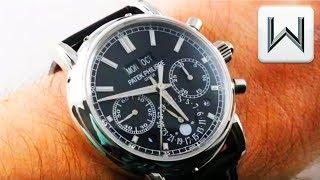 Patek Philippe 5204P Split Seconds Perpetual Calendar Chronograph  5204P-011 Luxury Watch Review