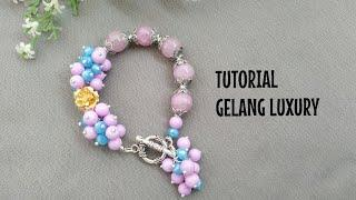 Tutorial Gelang Luxury II Bracelet Tutorial Jewelry Making