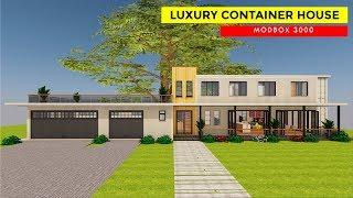Container House Design: Luxury 5 Bedroom Ultra-Modern Home