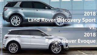 2018 Land Rover Discovery Sport vs Range Rover Evoque (technical comparison)