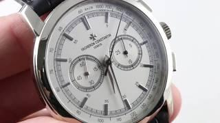 Vacheron Constantin Patrimony Traditionnelle Chronograph 47192/000g-9504 Luxury Watch Reviews
